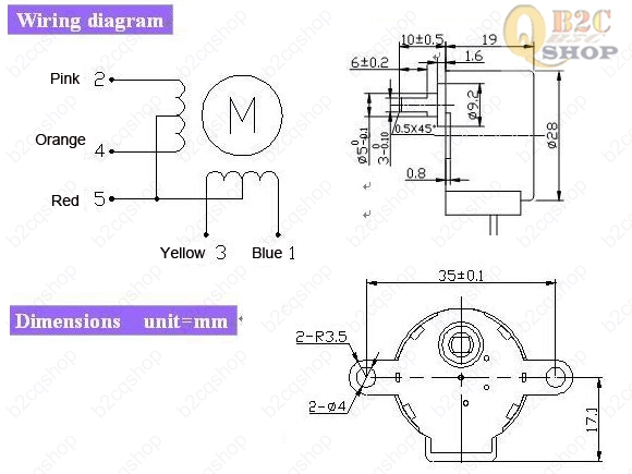 4 Wire Stepper Motor Wiring Diagram from arduinoinfo.mywikis.net