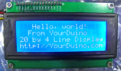 4x20 lcd display commands