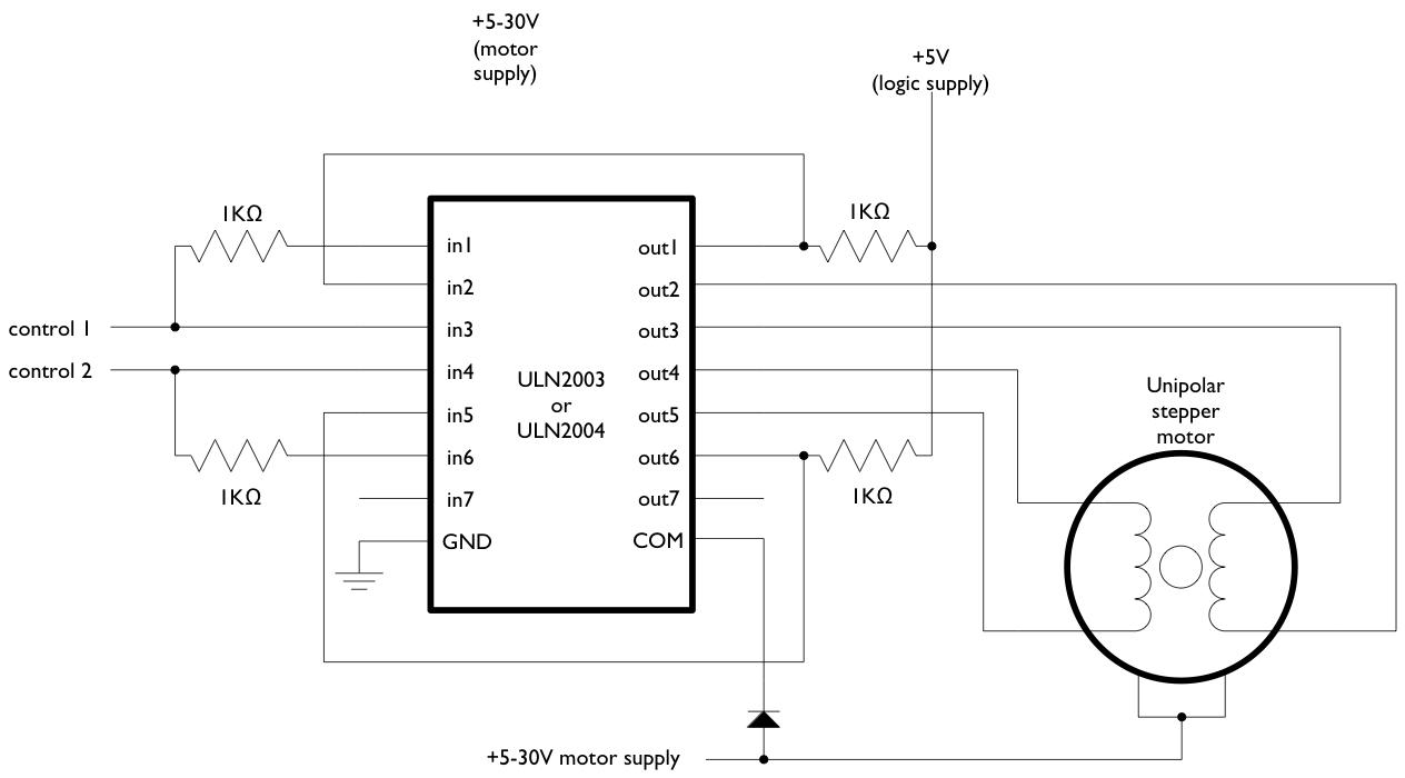 StepperMotors - ArduinoInfo on